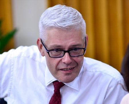 Ông Chris Jeffery, Giám đốc Học vụ British University Vietnam